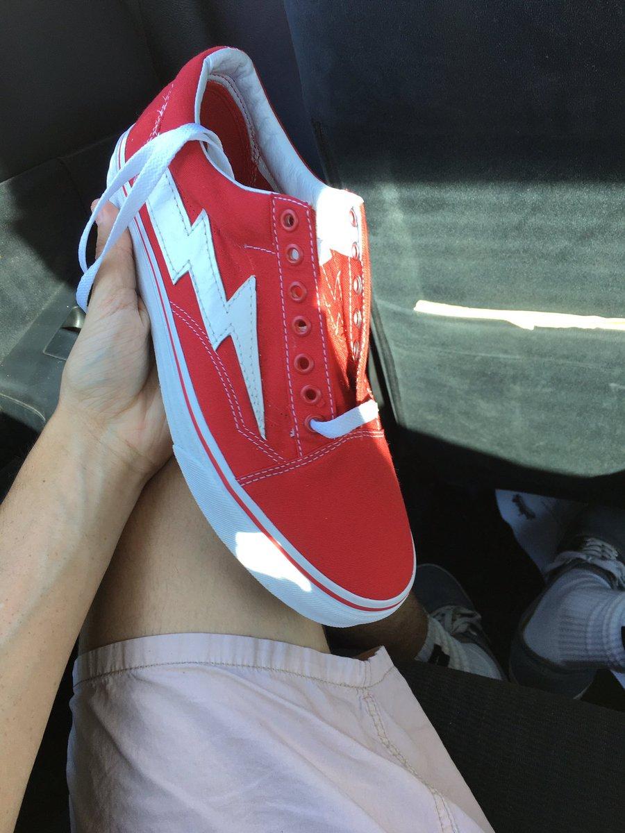 red vans revenge x storm