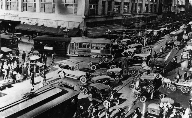 L.A.'s Roads Used To Be Way More Chaotic Than They Are Now