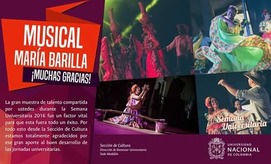 ¡GRACIAS, UNIVERSIDAD NACIONAL! #SemanaUniversitaria #UniversidadNacionalDeMedellín #MaríaBarillaUdea #MaríaBarilla Universidad de Antioquia https://t.co/bqyRcu6Htf