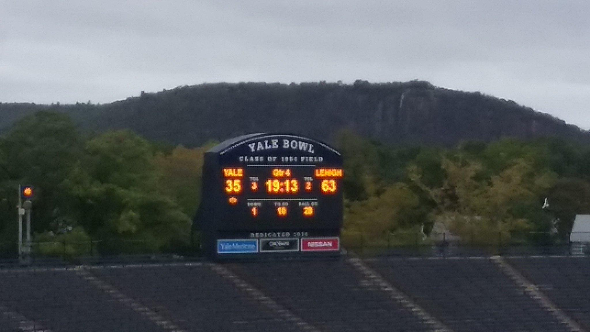 QUICK RECAP: Record-Smashing Day At the Yale Bowl As Lehigh Beats Bulldogs 63-35