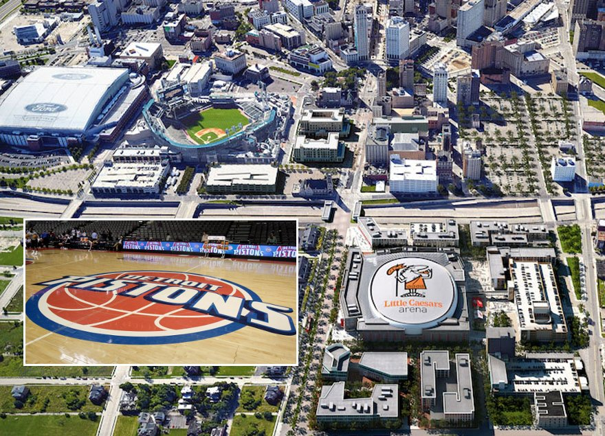 What would it take for the Pistons to move to downtown Detroit? We have more details today