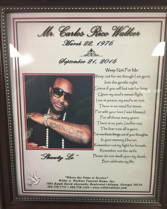 Shawty Lo Funeral