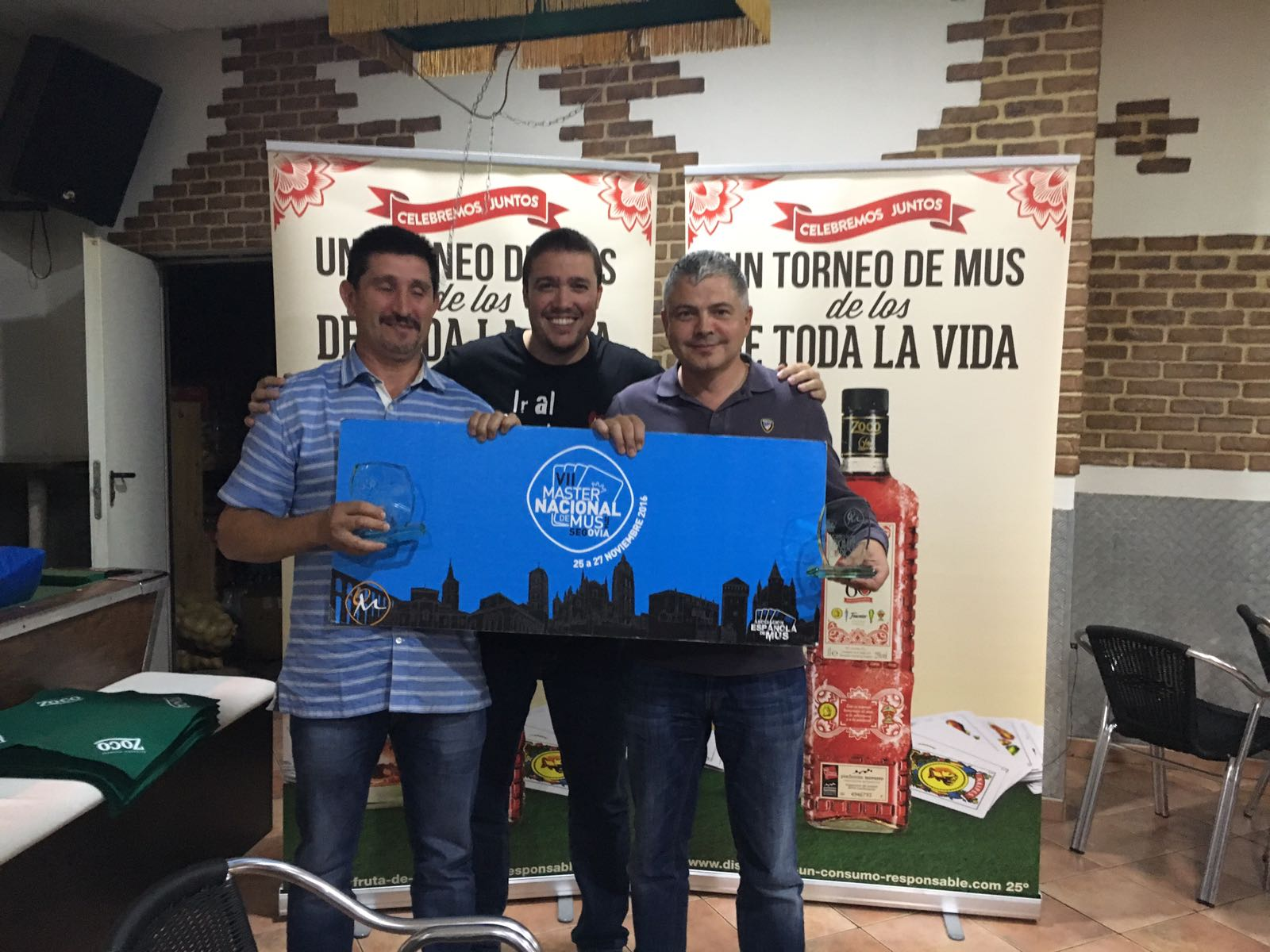 Manuel Antonio Prada y Miguel, Campeones del I Campionato Galicia Este