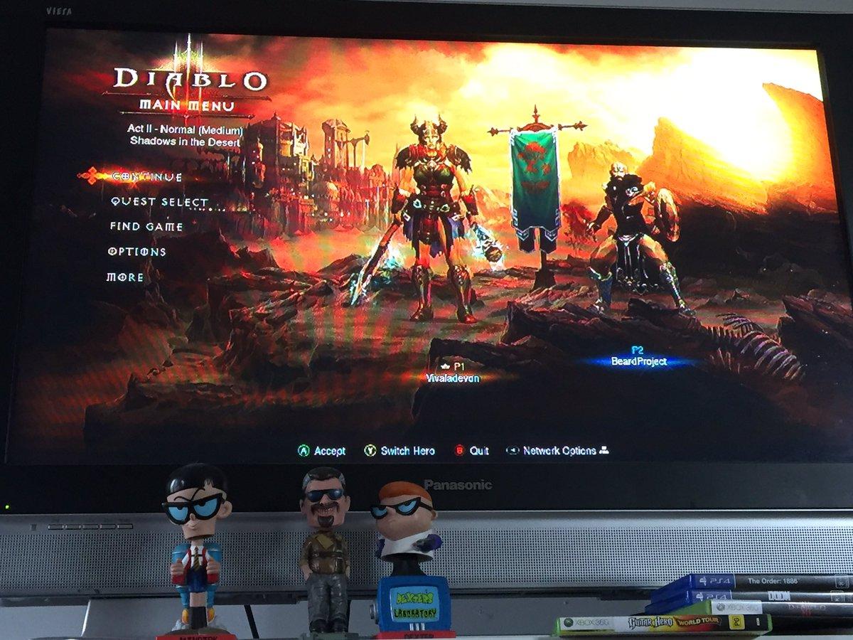 Devon Brown On Twitter Quick Play Of Diablo 3 Before I Start