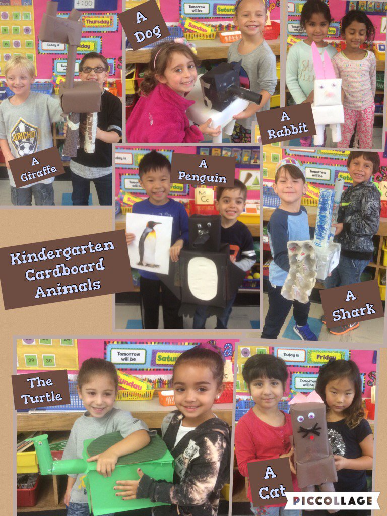 Kindergarteners Conquered The Cardboard Challenge! @Ivysherman #seamanstrength https://t.co/JBWRmEgsBk