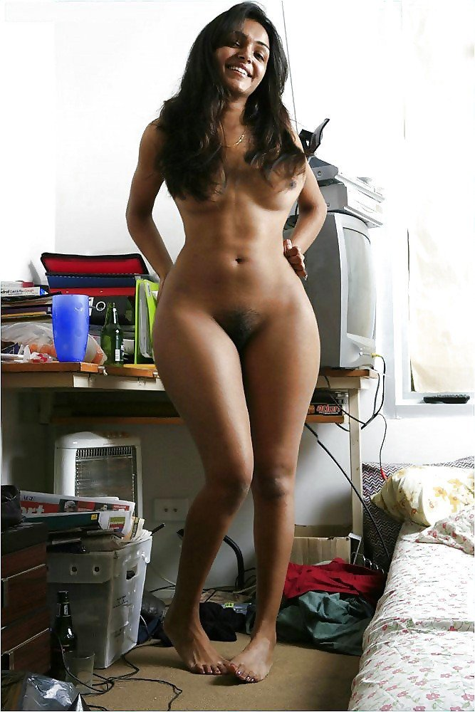 Nude indian model hip