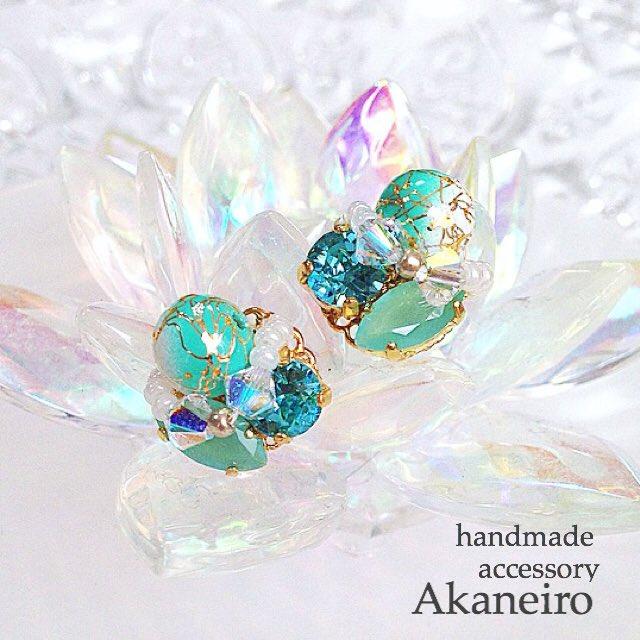 ダイヤモンドみたいな輝き♡スワロフスキーアクセを作ろう♪