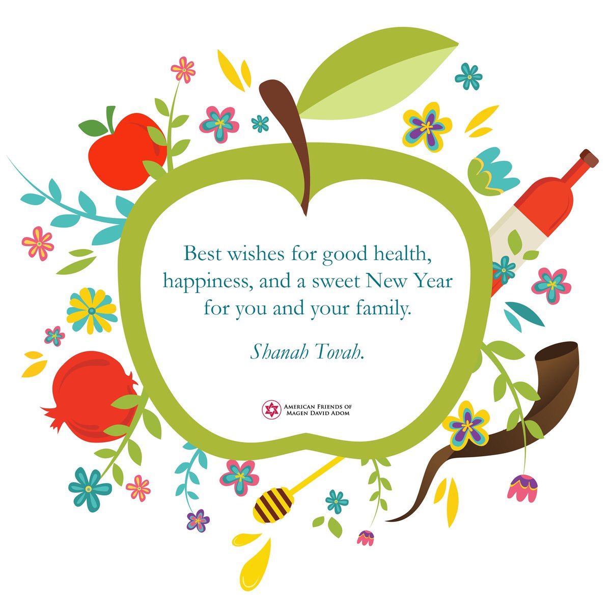 afmda on twitter wishing you good health happiness success prosperity and peace in the new year happynewyear shanahtovah shanatova 5777 israel