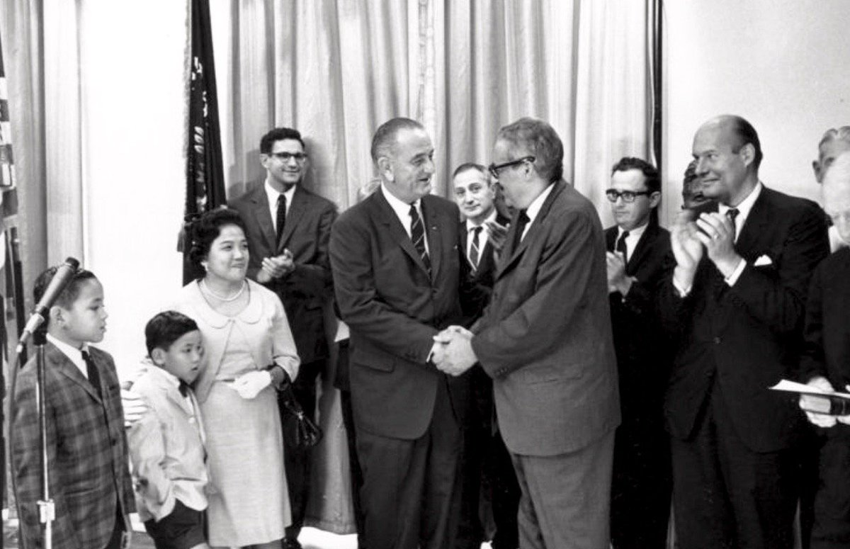 Thurgood Marshall sworn as first African American Supreme Court Justice today 1967: