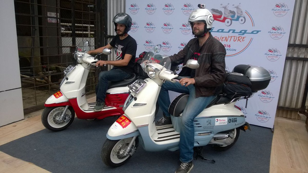 Carandbike On Twitter Peugeot Django 125 Scooters Ride Across India On A Journey From Paris To Vietnam Check It Out Here Https T Co I0gcyv7tyl Https T Co M4znqz0zfg