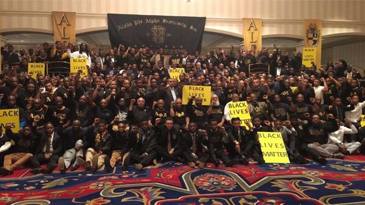 @rolandsmartin Alpha East making a statement at the Leadership conference in Baltimore. ✊