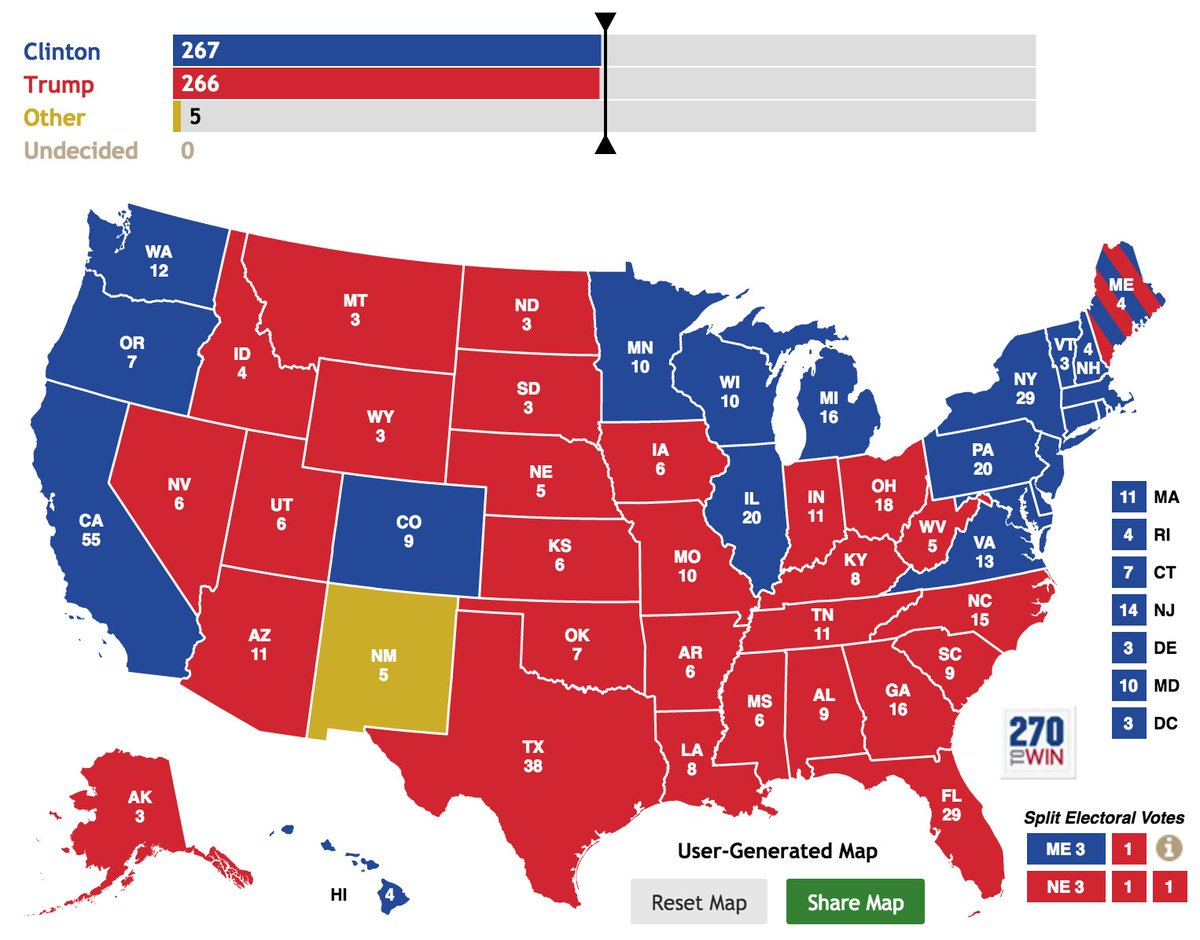 NATE SILVER: With Gary Johnson polling at 24% in New Mexico, a crazy election outcome is 'plausible'