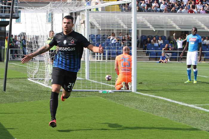 ATALANTA NAPOLI 1-0, Tabellino e Highlights. Sconfitta a sorpresa e fuga Juve.