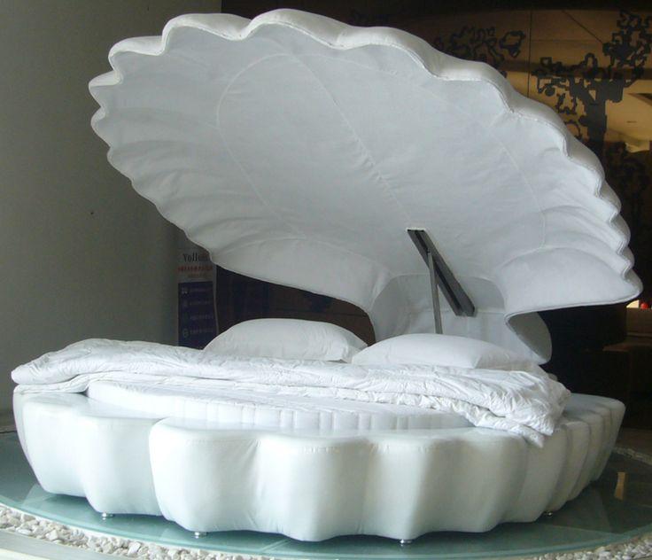 コレで誰でもお姫様に!リアルにある貝殻のベッドがステキww