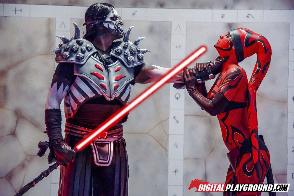 Digitalplayground star wars one sith xxx parody kleio va - 1 part 9