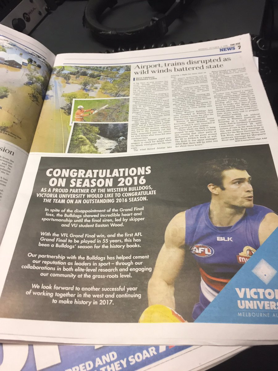 Not sure The Age ran the right ad today https://t.co/EiFZgM99MD