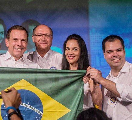 RT @geraldoalckmin_  Parabéns @jdoriajr e @brunocovas e a todos que colaboraram na caminhada p/ esta grande vitória! https://t.co/m5cZ6CJjUT