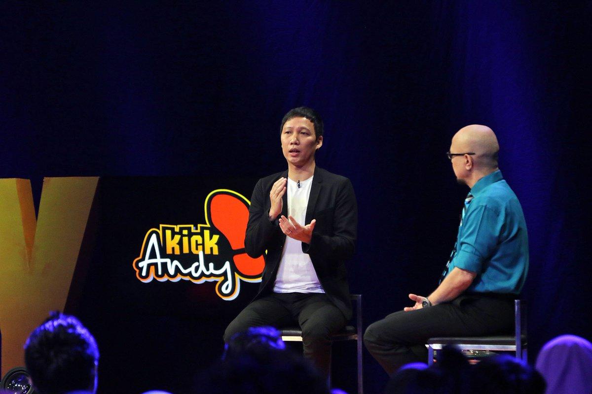 Yoris Sebastian dalam acara Kick Andy.