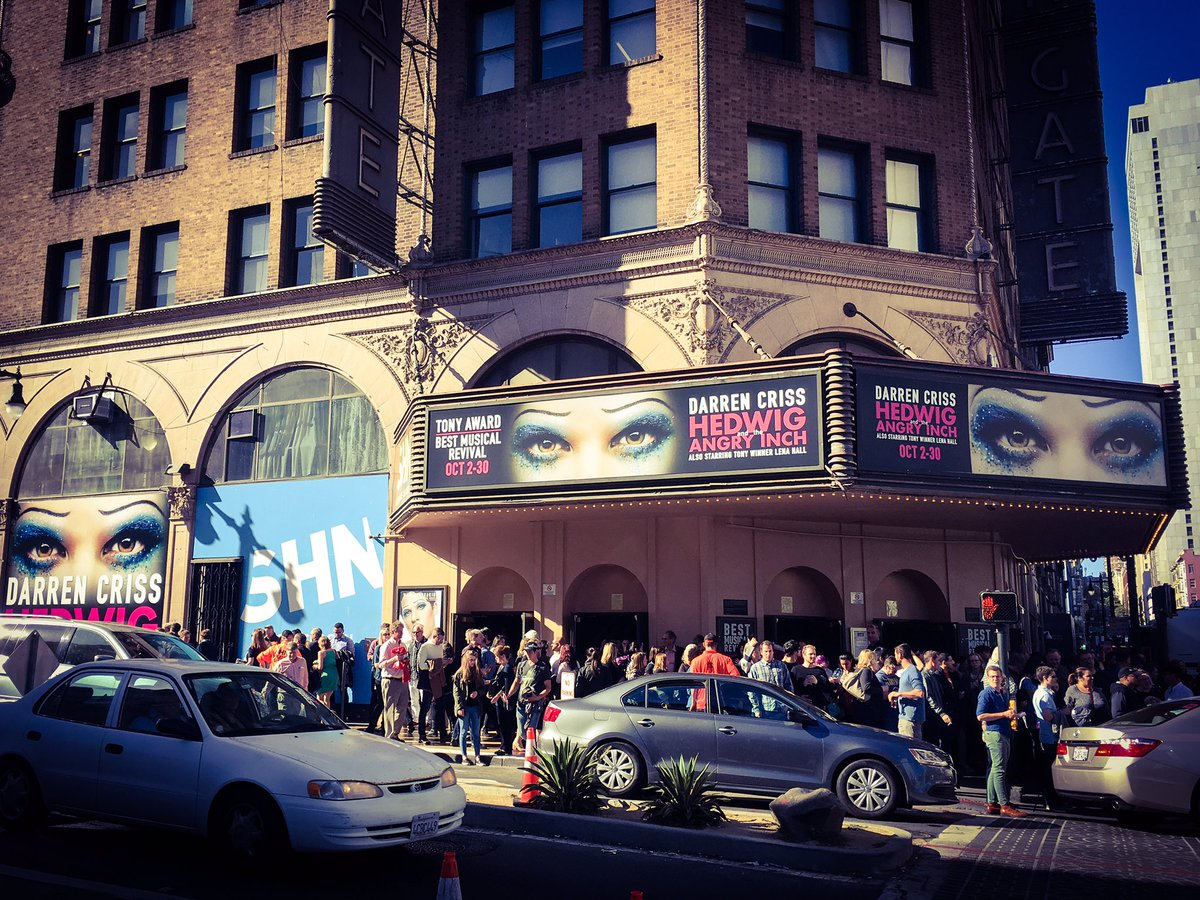 "hedwigandtheangryinch - Pics, gifs, media videos, curtain call videos, stage door videos, and posts of ""who saw Darren"" in Hedwig and the Angry Inch--SF and L.A. (Tour),  CtzRxvyUIAEE8HZ"