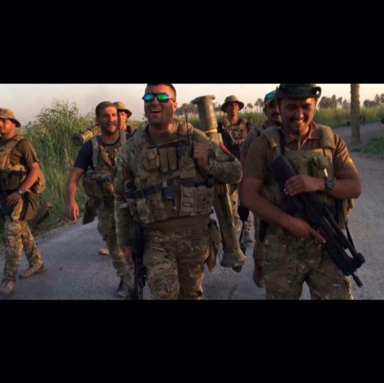 ماذا تعرف عن قوه الرد السريع التابعه لوزارة الداخليه العراقيه  Cu-PhcJXgAABCeU