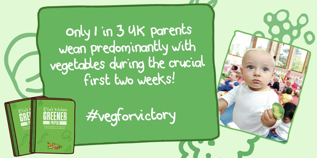 RT @EllasKitchenUK: Only 1 in 3! Let's make a change! Help us enhance the weaning guidelines by RTing #vegforvictory https://t.co/vTReYA5pIk