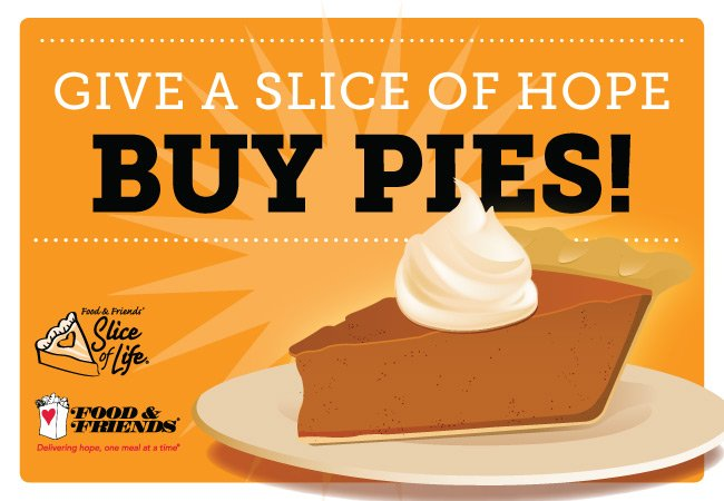 Give a slice of hope this Thanksgiving and buy your pie through #SliceofLifeDC! https://t.co/S5wj8REa2E https://t.co/0QsZg6dNFT
