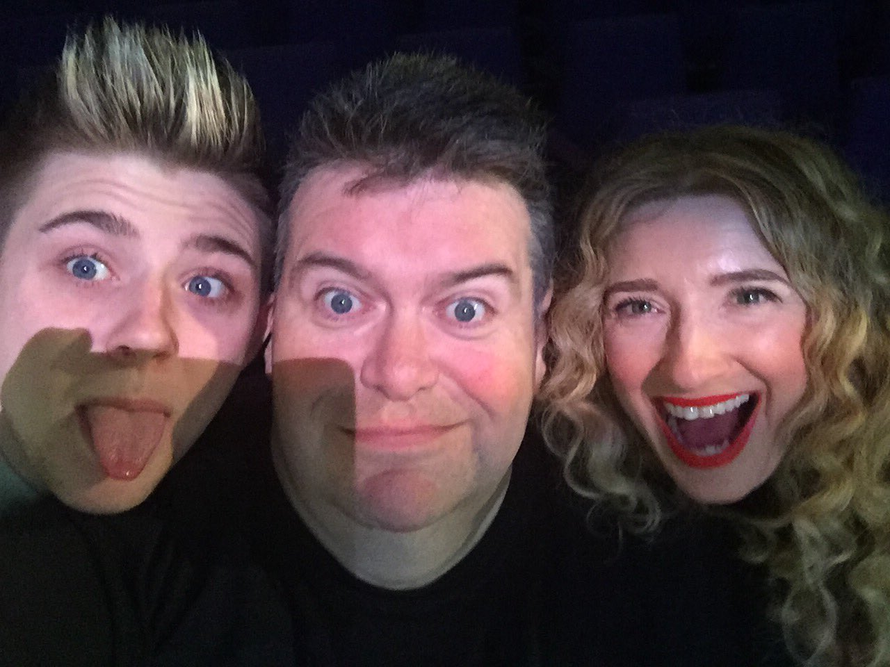 RT @mrtomurie: I'm in an X Factor sandwich.  @MelanieMasson1 @nickymcdonald1 https://t.co/9pbY3VEKXz