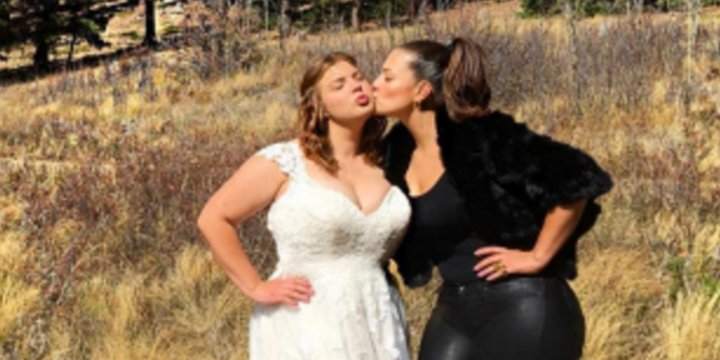 Ashley Graham Wedding.Ashley Graham Ashley Graham Wore Leather Pants Sister
