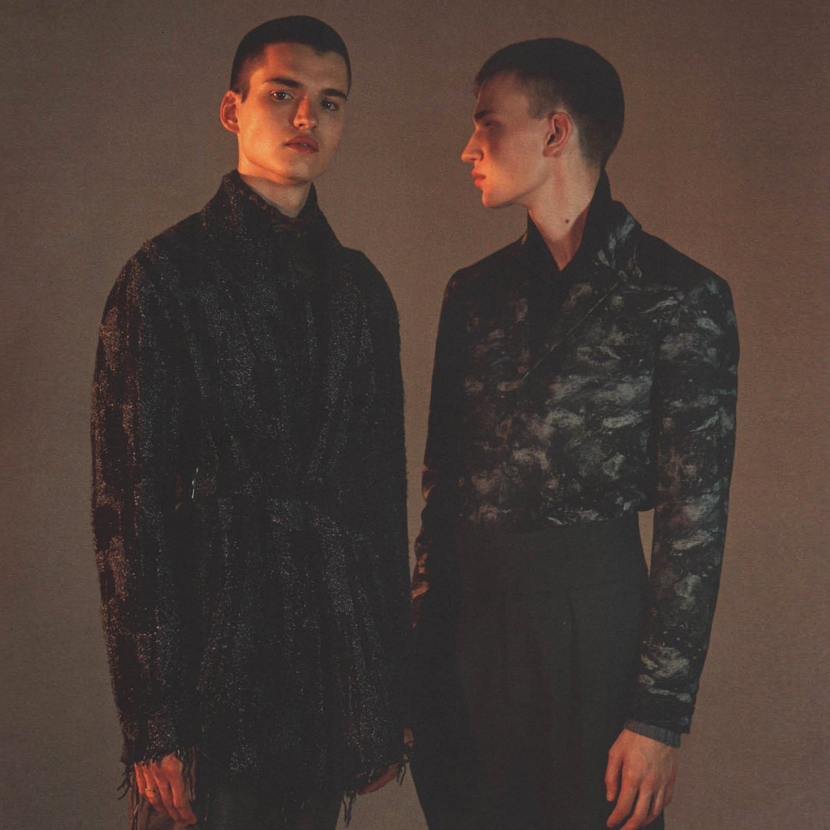Jackson Wrapped Jacket (left) From Our Autumn - Winter 2016 Collection Featured In The Last Issue Of The Greatest. https://t.co/a9foD1Q3gY