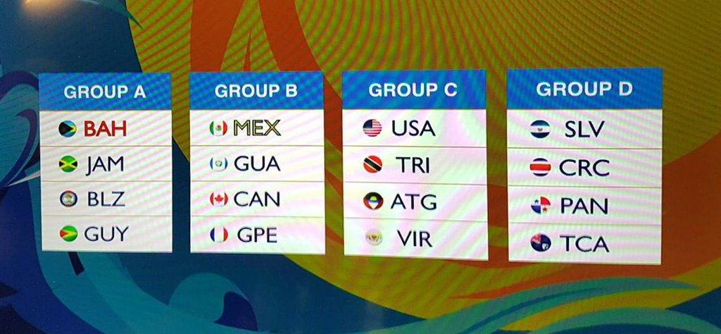 Campeonato de CONCACAF 2017 en Bahamas. Cu-z4UxVUAAUFIW