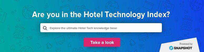 hoteltechnologyindex hashtag on Twitter