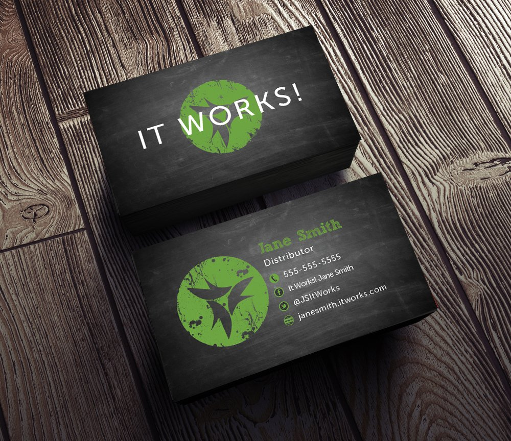 rebekah rose designs rrgrafixdesigns twitter - It Works Business Cards