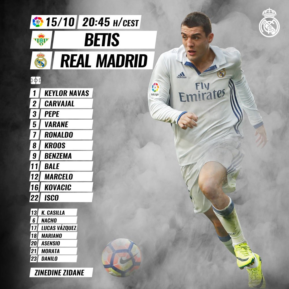 Real Betis v Real Madrid  Cu022pVXEAUoJEF