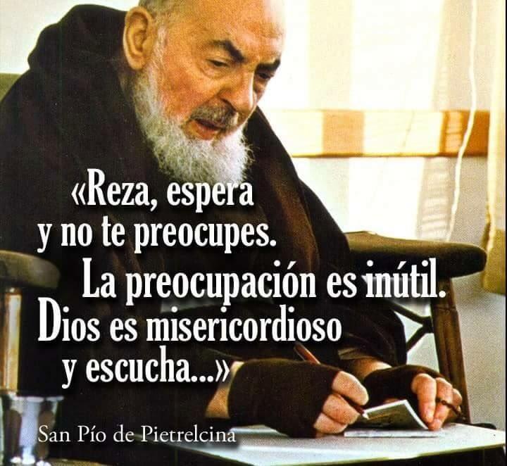 San Padre Pio De Pietrelcina No Twitter Cuando Oras Por Un