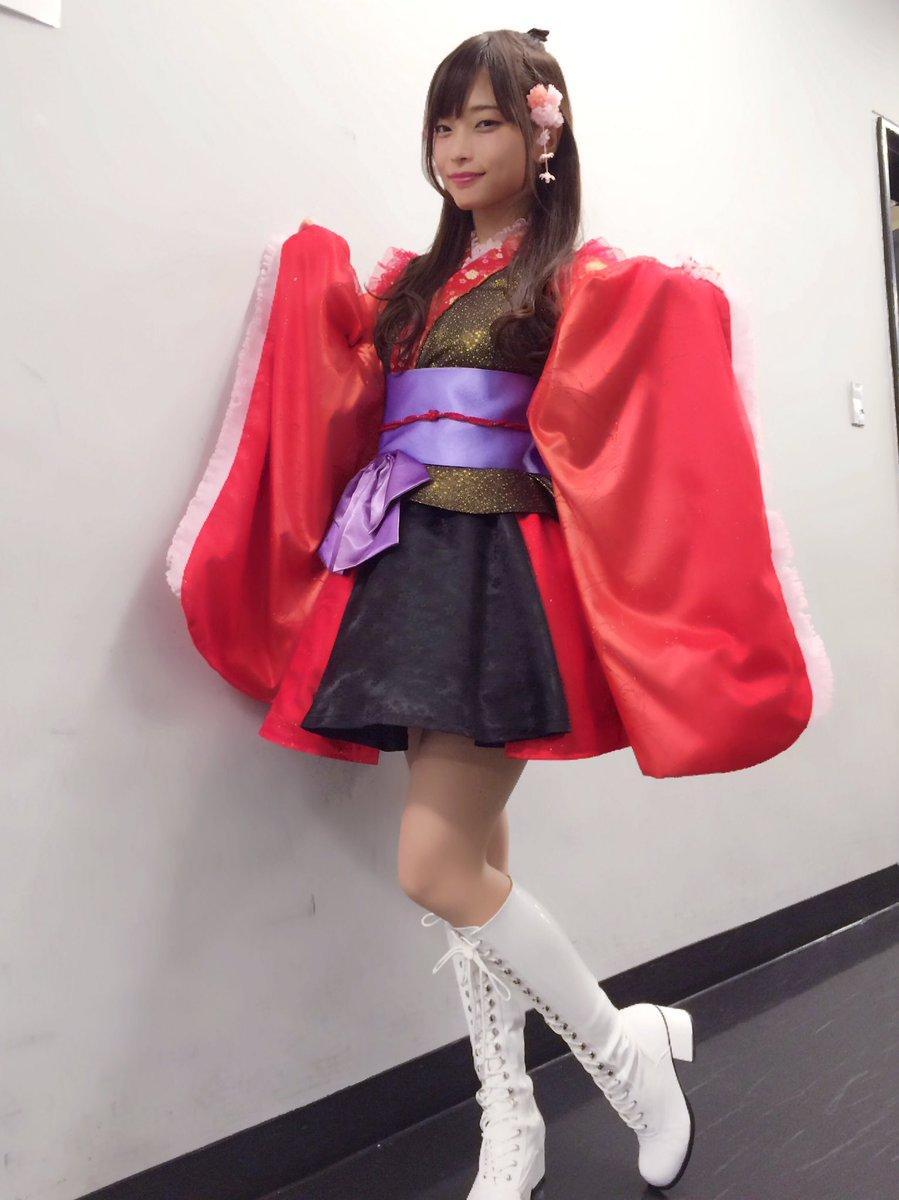 立花理香さんのコスチューム