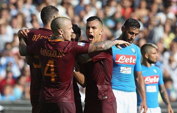 Napoli-Roma finisce 1-3, risultato che interrompe la magia del San Paolo