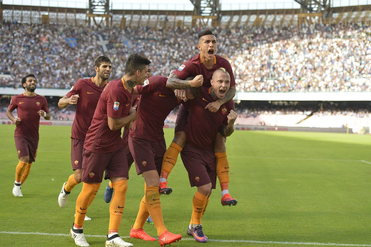 Video: Napoli vs AS Roma
