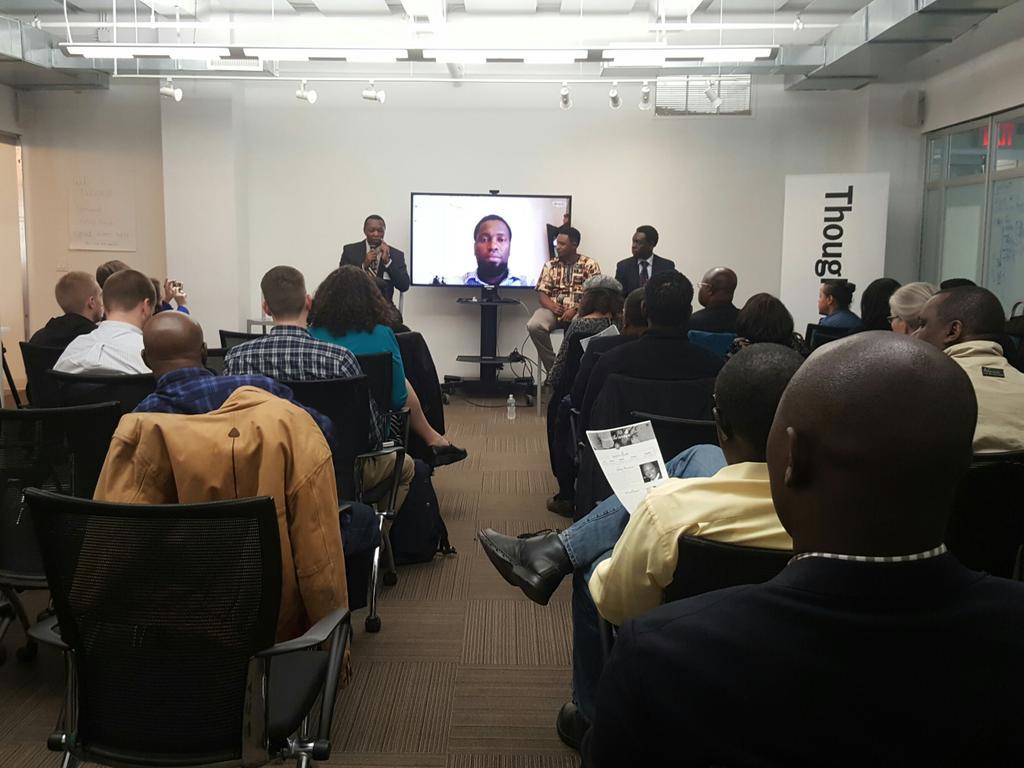 Rwandan genocide survivor, Claude Gatebuke joining on the panel. #CongoWeek #breakthesilence @AGLANglr @congofriends https://t.co/5JRn1nHYOr