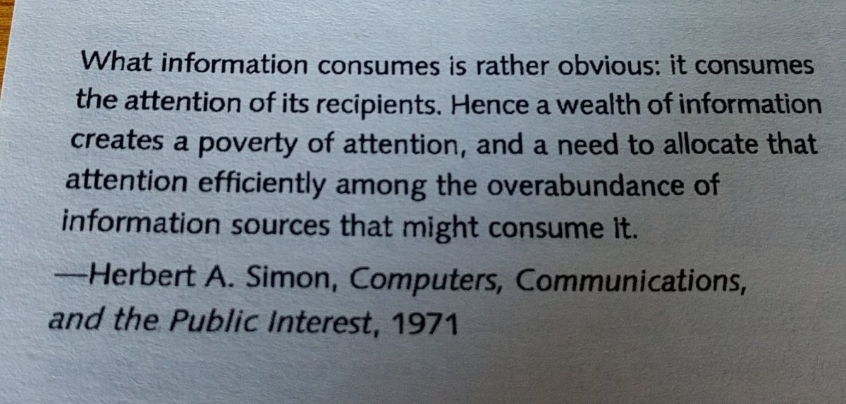 Kent Aitken On Twitter A Wealth Of Information Creates A Poverty