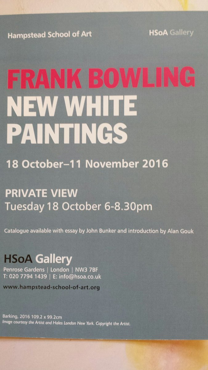 alangouk hashtag on  frankbowling ra newwhitepaintings hsanw3 gallery pv 18oct6 8 30pm gr8 catalogue essay by thebunkers4 intro by alangouk a bit my view