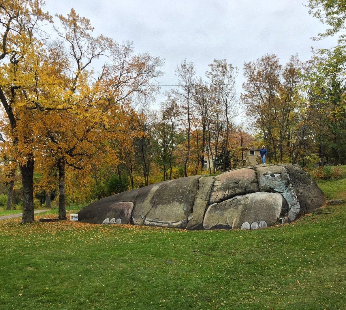 andrew krueger on twitter elephant rock in lincoln park in duluth