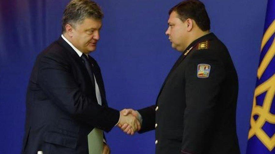 Порошенко присвоил специальные звания ряду сотрудников Нацполиции - Цензор.НЕТ 2759
