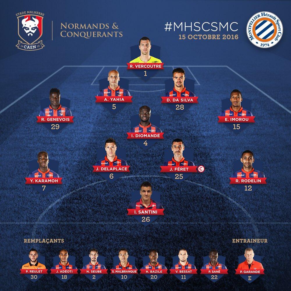 [9e journée de L1] Montpellier HSC 3-2 SM Caen Cu0uxnwWYAAoYQt
