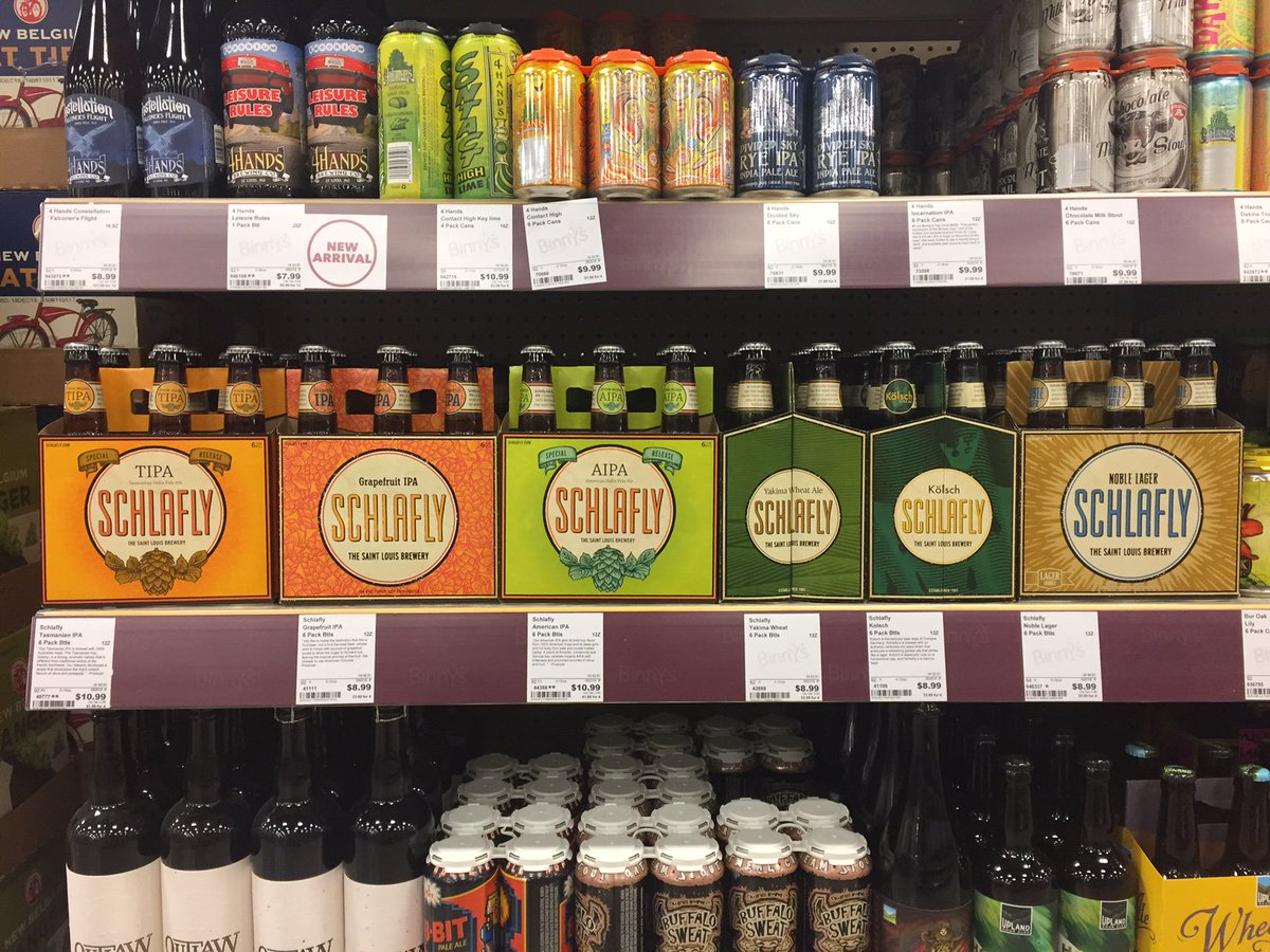 Binnys Beverage On Twitter Head To Your Favorite For A Schlafly Tasting Today From 4 6pm Weekendatbinnys