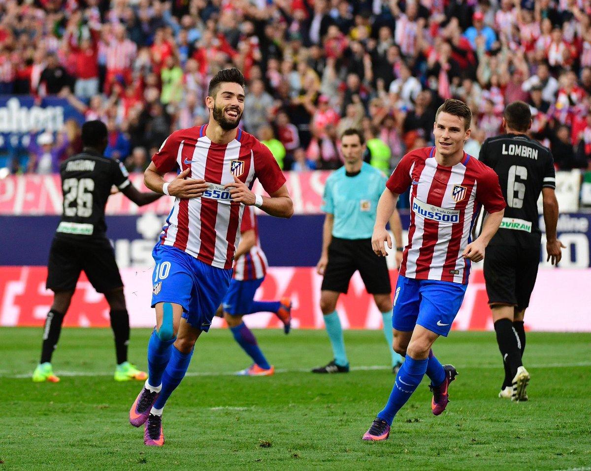 Festival goleador de los grandes con el Atlético a la cabeza.