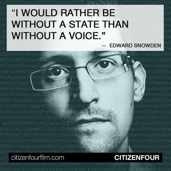 Edward Snowden Επαληθευμένος λογαριασμός @Snowden  #IfIWereAnOutlaw