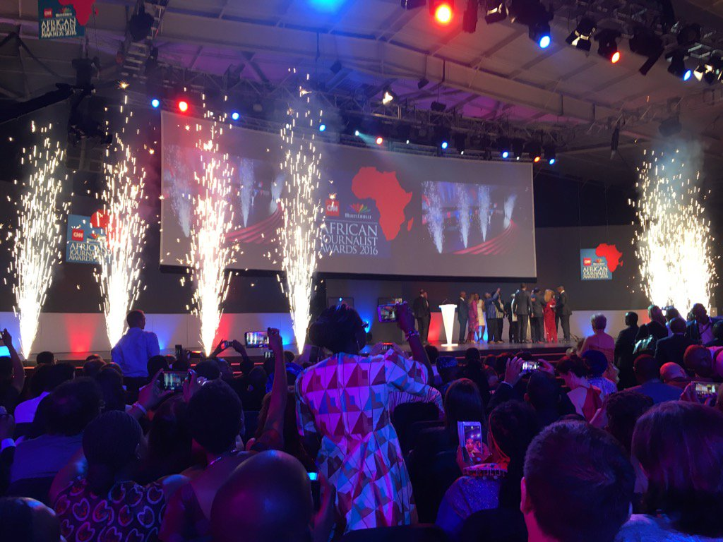 Asha Mwilu and Rashid Idi of Kenya crowned CNN MultiChoice African Journalist 2016 #AfricanJournoAwards https://t.co/dhv4onkeCX