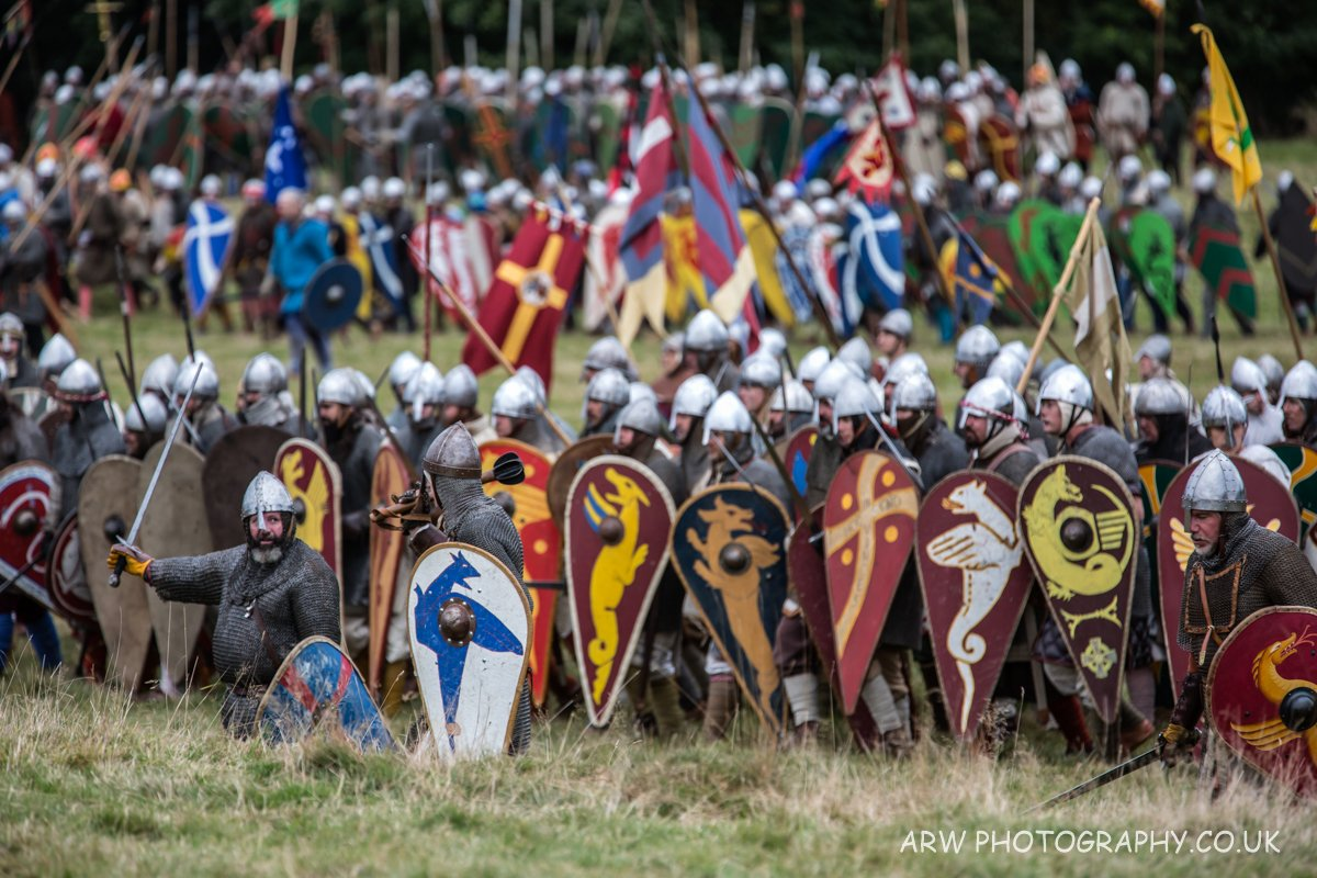 """Battlefield""...Battle of Hastings 2016 @1066battleabbey @EnglishHeritage #Battle1066 https://t.co/9CxNTUnkoT"