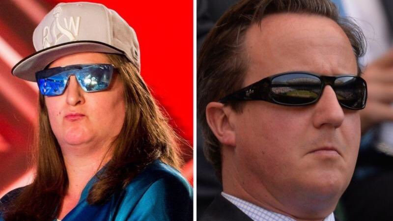 Of course Honey G is David Cameron. He's cashing in since the PM days. #xfactor https://t.co/LpdLWB4fmk