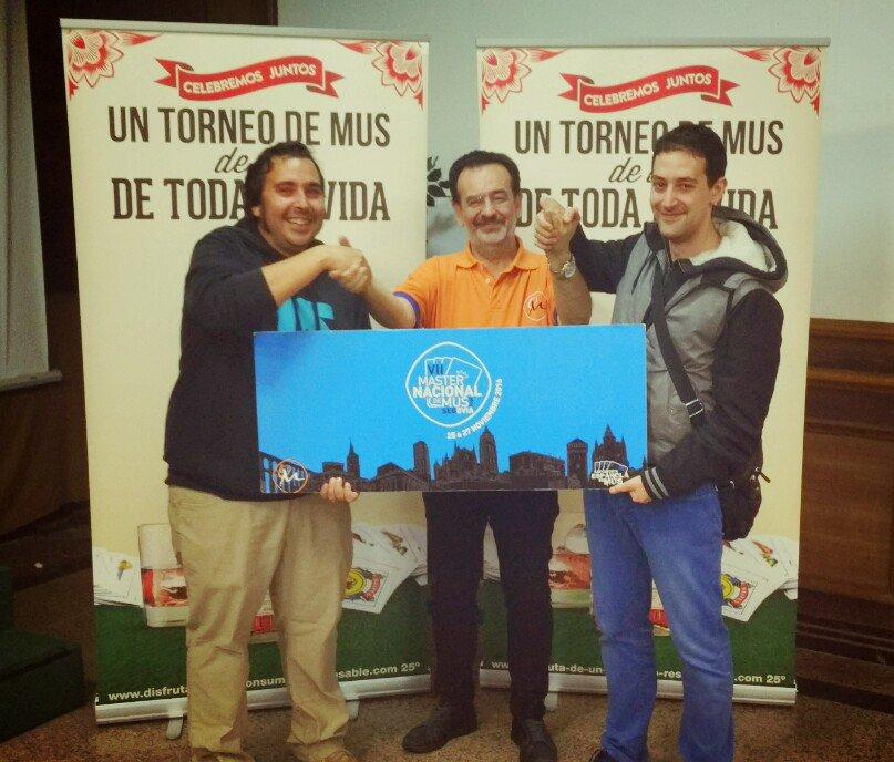 Chuso Sacó Vidal y Diego Vidal del Río, Campeones del II Torneo Premaster Provincial de Ourense